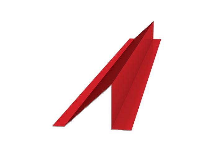Снегозадержатель полиэстер высота полки 120x1000 красный