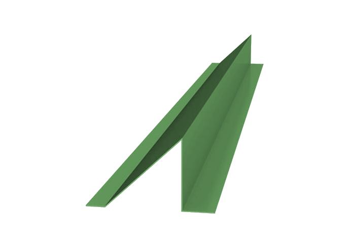 Снегозадержатель полиэстер высота полки 120x1000 зеленый