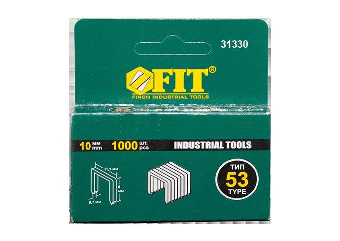 Скобы 10мм тип 53 код FIT-31330
