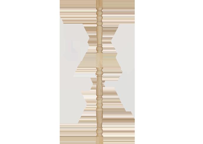 Столб опорный Яблоко хвоя 100x100x2500