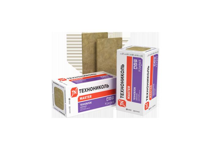 Утеплитель ТЕХНОБЛОК СТАНДАРТ (12 плит, 8,64 кв.м) 1200х600х50 мм - Каменная вата - Теплоизоляция