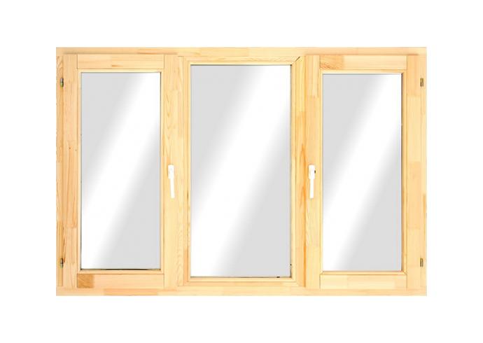 Трехстворчатые окна 1320x1770