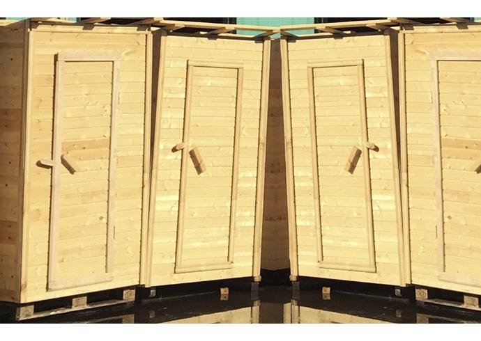 Дачный туалет (в сборе)