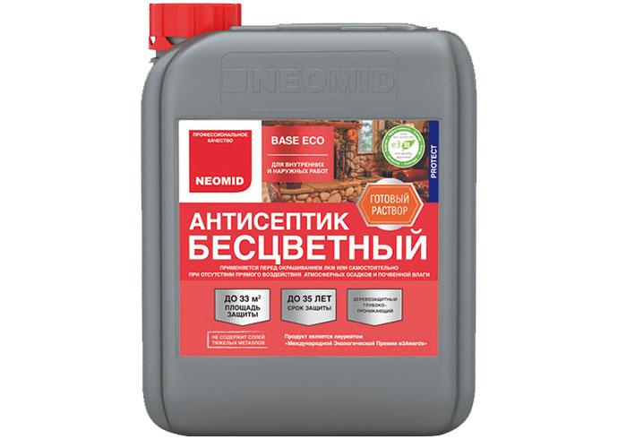 Универсальный бесцветный антисептик NEOMID BASE ECO