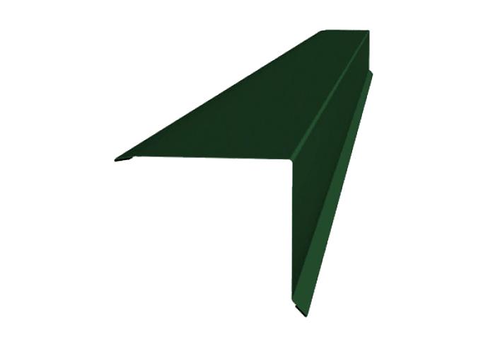Ветровая планка полиэстер 90х90 мм зеленая