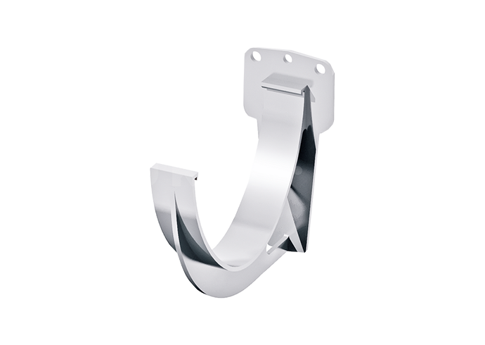 Кронштейн желоба пластиковый Verat белый