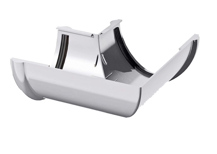 Угол желоба внутренний/внешний 90° ПВХ Verat белый